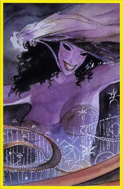 XVII Звезда. Жребий недели. Erotic Tarot of Manara