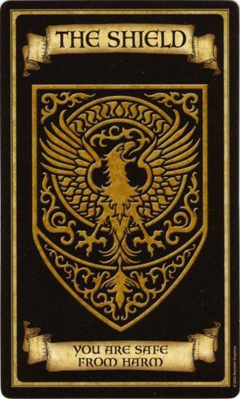 Щит. Жребий недели. Madame Endora's Fortune Cards
