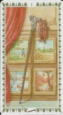 Romantic Tarot by Emanuela Signorini & Giulia F.Massaglia, Lo Scarabeo - Wands 01