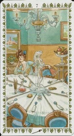 Пятница, день Венеры. 13.11.2020. Семёрка Мечей. Romantic Tarot