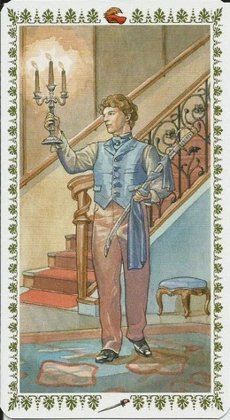 Пятница, день Венеры. 20.11.2020. Паж Мечей. Romantic Tarot